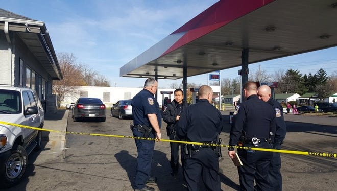 A man who drove himself to a gas station after being shot late Wednesday morning has died, police said.
