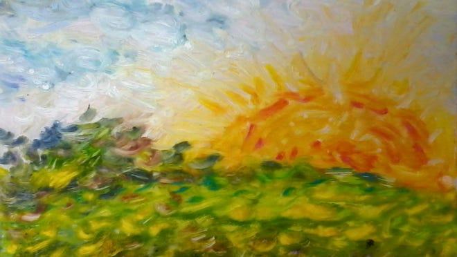 """Summer Skies"" by Lavinia Liang."