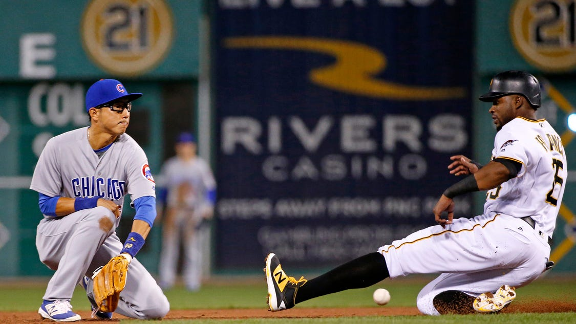 Vogelsong struggles again, Pirates fall to Cubs 6-4