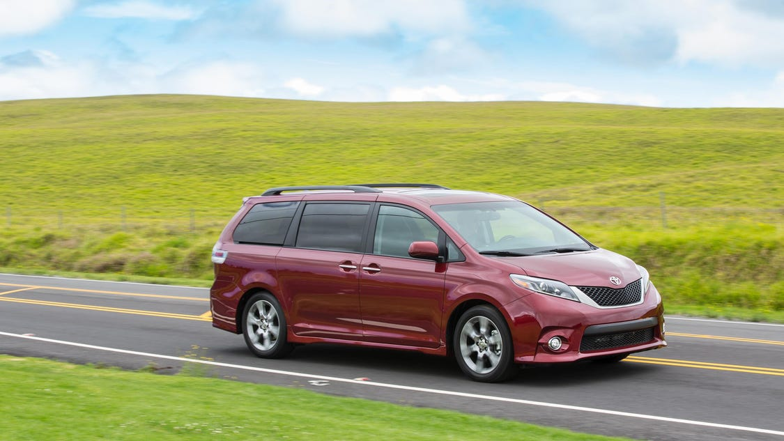 Creative Toyota Recalls 744K Sienna Minivans In US Wednesday 23 Nov 2016  8