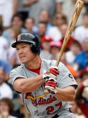 Scott Rolen's career Wins Above Replacement is above the average for Hall of Fame third basemen.