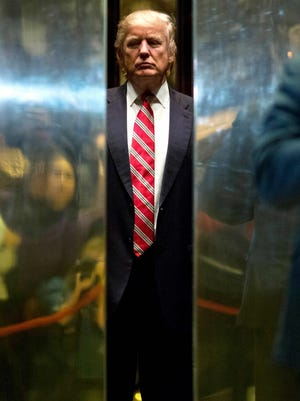 President-elect Donald Trump in New York on Jan. 16, 2017.