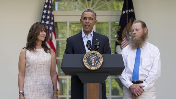 Obama and Bergdahls