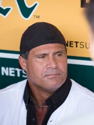 "Jose Canseco was ""nervous as hell,"" one teammate said,"
