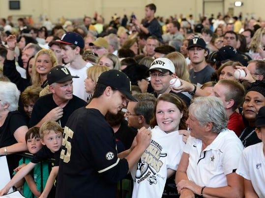 Vanderbilt Celebration Baseball