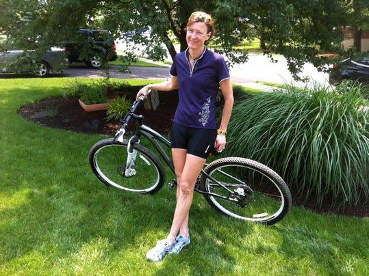 jane and her bike