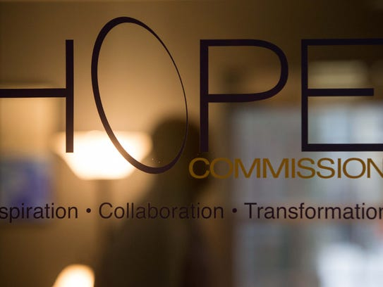 The Hope Commission is based at 38 Vandever Ave. in