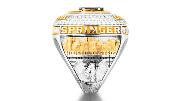 10 amazing details on the Houston Astros' World Series rings