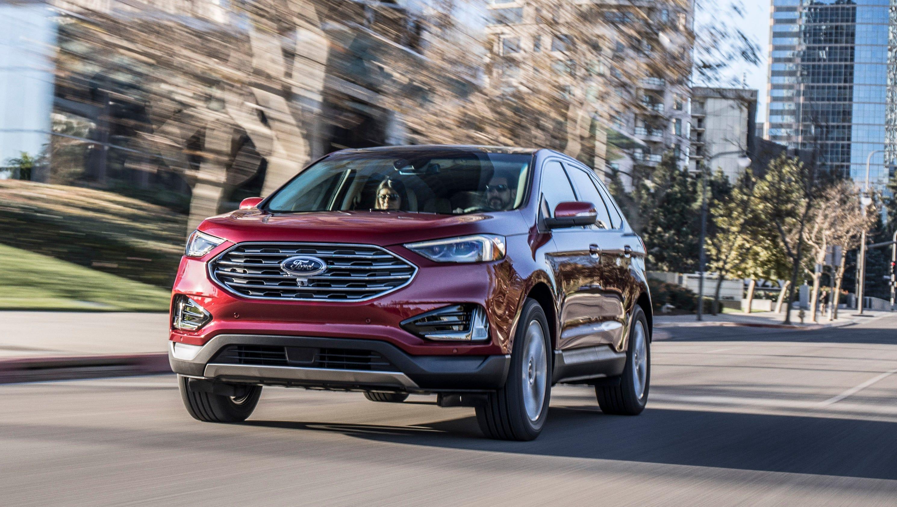 2018 Detroit Auto Show: 2019 Ford Edge revealed