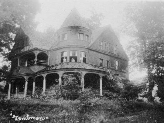 Gombroon was Gov. Zebulon Vance's mountain home, with a heart-shaped pool.