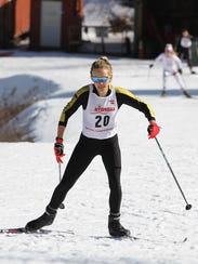 Natalie Northrup of Honeoye Falls-Lima helped the Section