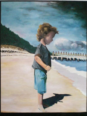 "Jean Luongo's ""Patsy at Beach: A Dream"""