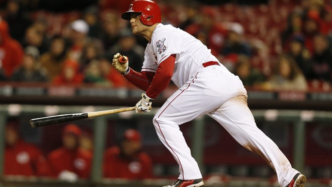 Devin Mesoraco may return to the Reds lineup soon.