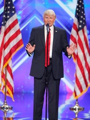 """The Singing Trump performs on """"America's Got Talent"""""""