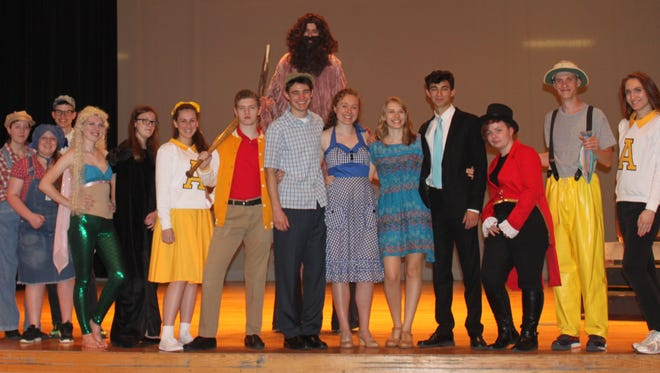 """""""Big Fish"""" at Owen High School showcases a talented group of seniors in the lead roles."""