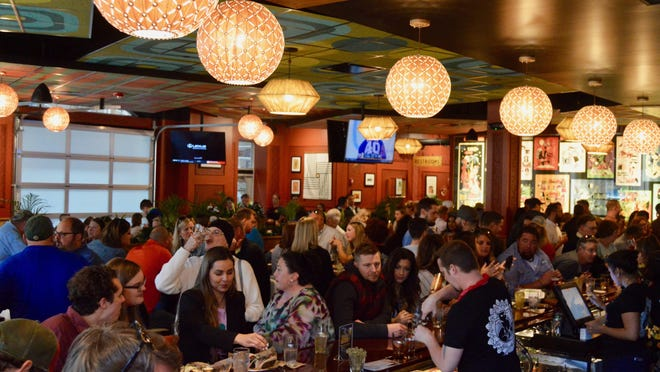 HopCat invited VIPs to a sneak peek of the restaurant on Friday, April 26, in preparation for its Saturday grand opening on Eighth Street.