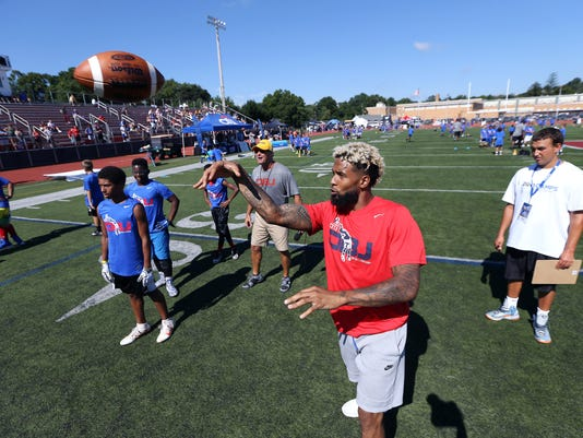 Odell Beckham Jr. Camp