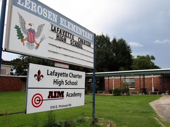 The former LeRosen Elementary campus previously housed