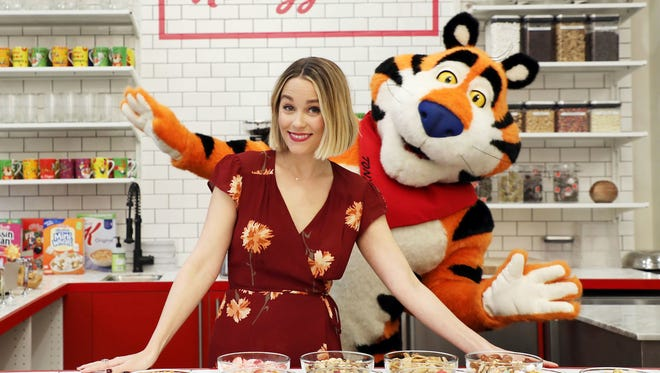 The new Kellogg's NYC Café opens on Thursday, Dec. 14, in a much larger permanent location right in New York's Union Square. Kellogg's paired with designed, foodie and lifestyle expert Lauren Conrad to design some of the cereal creations.