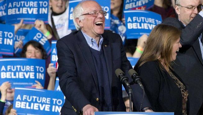 Bernie Sanders beat Hillary Clinton by a 19-point margin in Colorado caucus straw polls Tuesday night, but the delegate count is starting to tell a different story.
