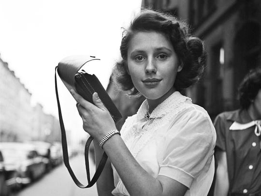 An exhibition by Chicago-based street photographer Vivian Maier is on view at Sherrick and Paul through Aug. 15. Shown here is New York, NY, c.1950 image of the girl.