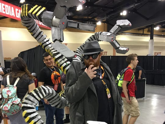 Eddie Wouters had an impressive Doctor Octopus costume