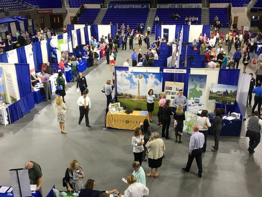 The largest career fair to occur in the region in some time took place in early May 2017 at FGCU's Alico Arena.