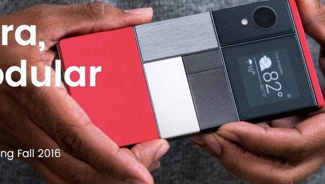 Project Ara modular phones from Google are coming next year.