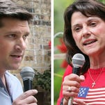 Wisconsin GOP Senate candidates Kevin Nicholson and Leah Vukmir weigh in on Mitch McConnell