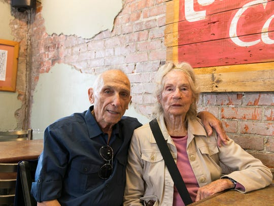 Sandy and Mary Oppenheimer, who worked in The Daily