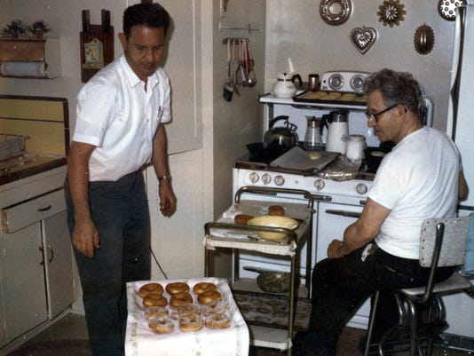 Dan and Mickey - kitchen