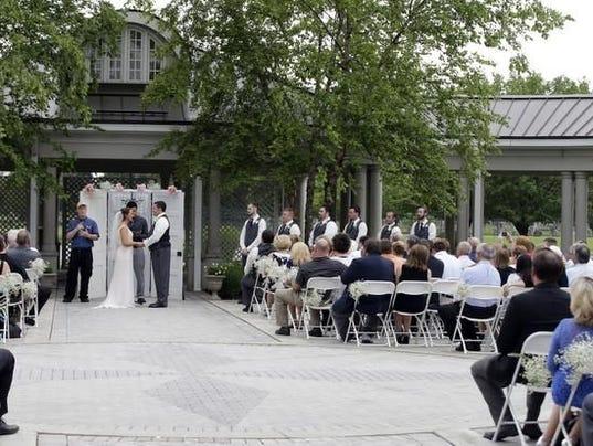 Cemetery Weddings