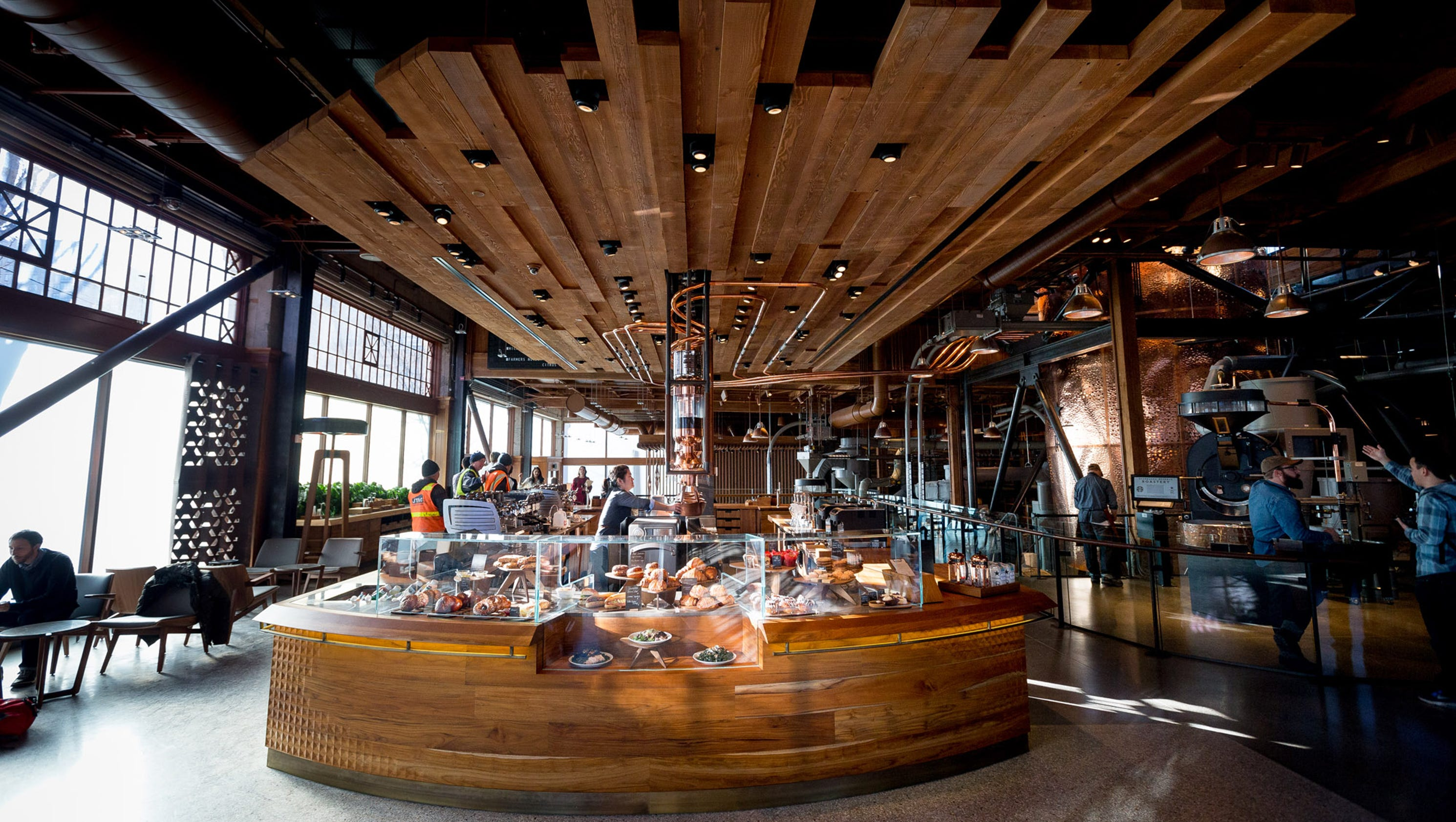 Inside Starbucks New Roastery And Store