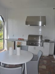 One of the unusual aspects of this coach home is the ability to add an outdoor kitchen.