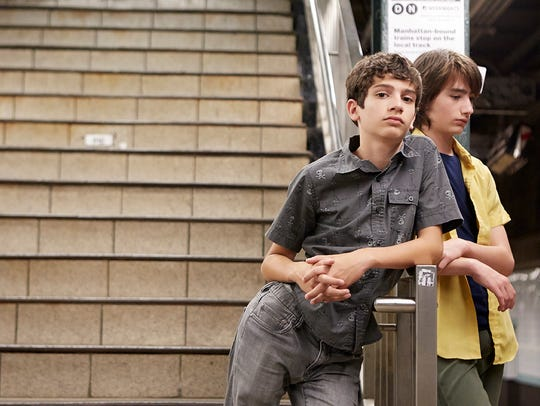"Michael Barbieri and Theo Taplitz in ""Little Men."""