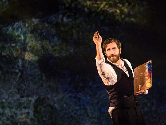 "Jake Gyllenhaal in ""Sunday in the Park with George"""