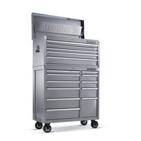 """Craftsman 40"""" 16 Drawer Premium Heavy Duty Stainless Steel Tool Storage is part of the Military Men and Women discount deal available through Sears for Memorial Day."""