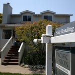 Existing home sales fell 3.3 percent in April.l