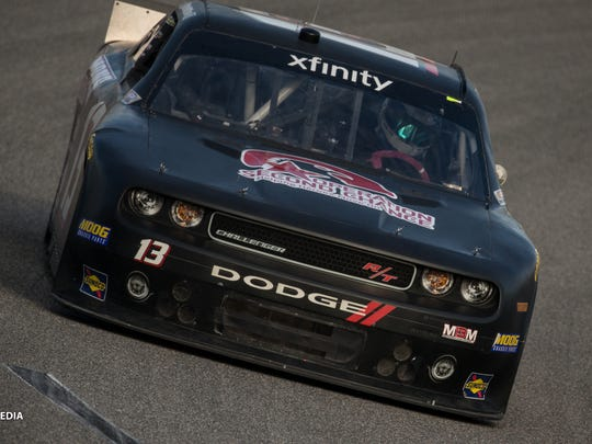 Brandon Hightower makes his debut in NASCAR's Xfinity Series in Richmond, Virginia, earlier this month.