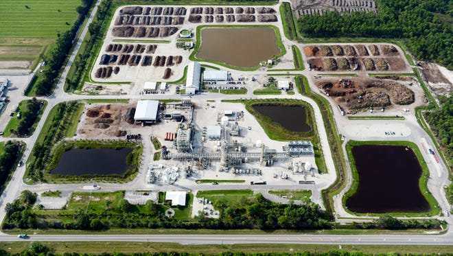 INEOS Bio plant in Indian River County in 2013.
