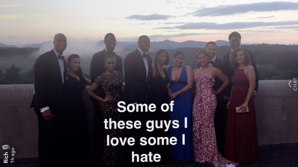 Richard Jefferson joked about championships with Steph Curry and Andre Iguodala at wedding