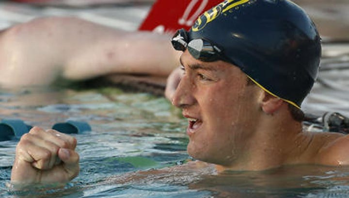 Scottsdale Chaparral senior Ryan Hoffer is closing in on the national high school record in the 50-yard freestyle.