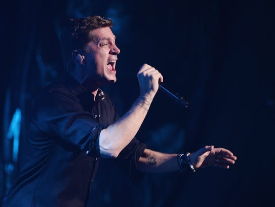 Rob Thomas performs at The Beacon Theatre in New York