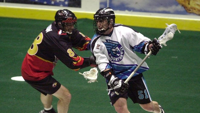 Shawn Williams is the newest member of the Knighthawks Hall of Fame.