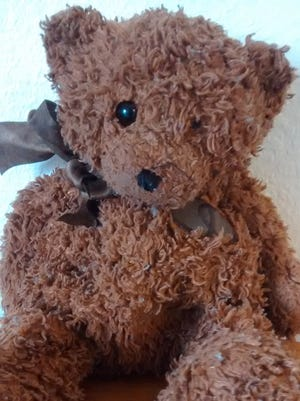 The teddy bear with cremains of an infant inside was returned to the Perez Pequeno family on Thursday.