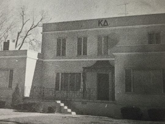 The Kappa Delta sorority at 1538 S. College in the