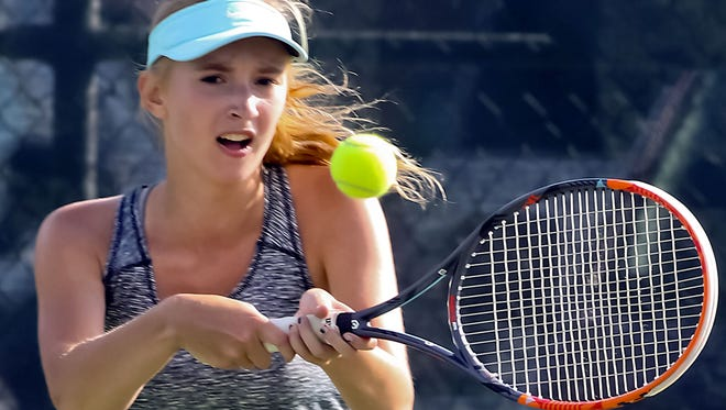 Brookfield Central senior Sasha Semina of has reached the third round at state the past two years but has been slowed this season by injuries.