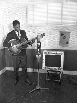 """Long before B.B. King earned his title as """"King of"""