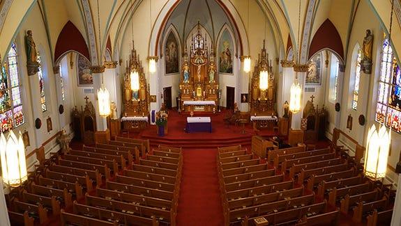 St. John the Baptist Catholic Church, Johnsburg, Wisconsin.