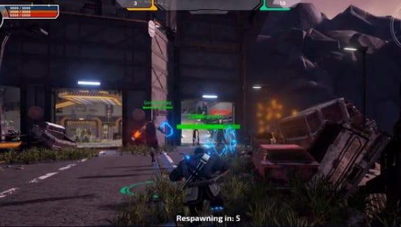 A screenshot of gameplay in Tuebor, a Lansing-made video game.